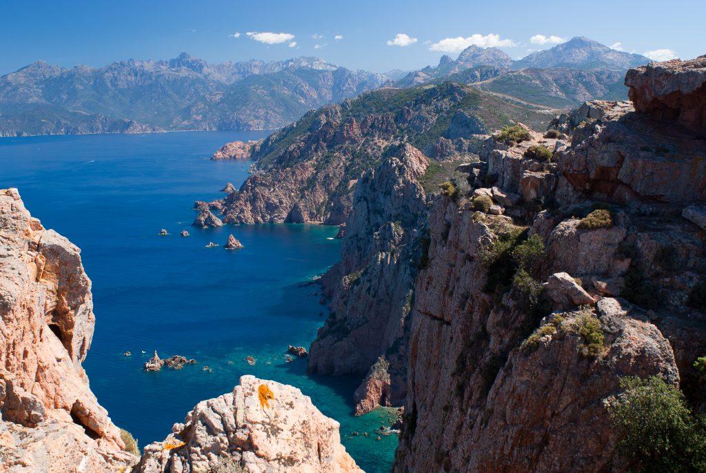 Mountains & coastline