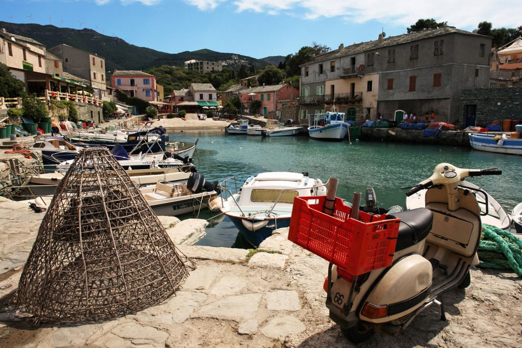 The charming port of Erbalunga