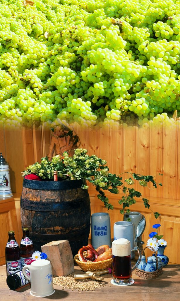 Great beers and excellent Franconian wines