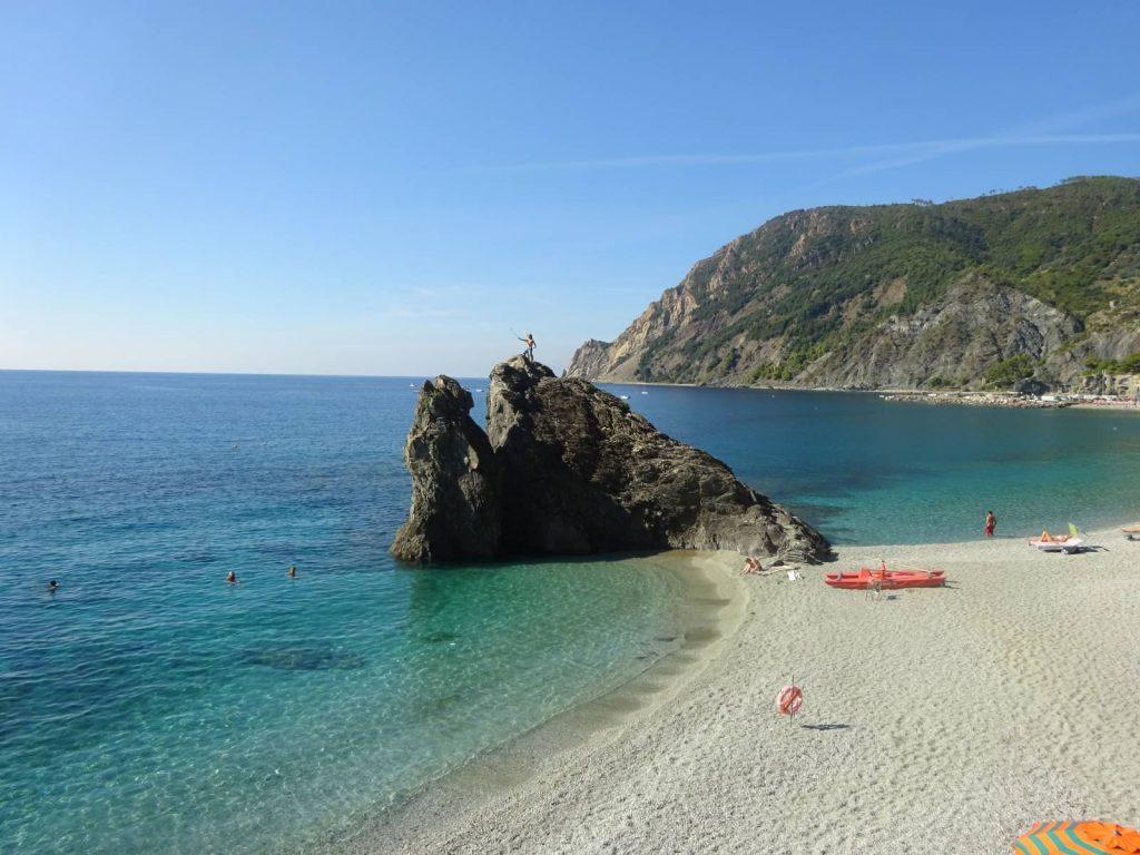 Swimming in the Cinque Terre.