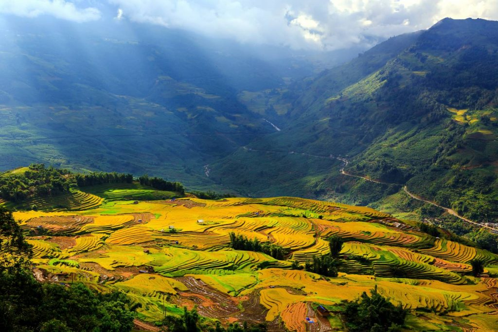 Sapa's landscape is instantly recognisable.