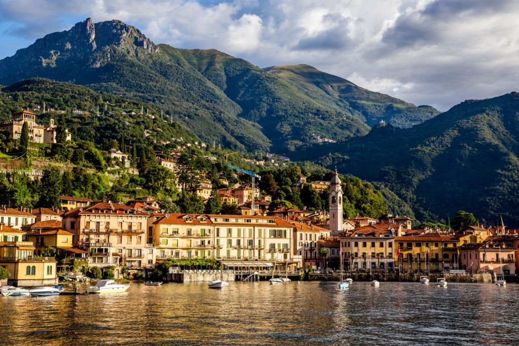 Bellagio on the shore of Lake Como