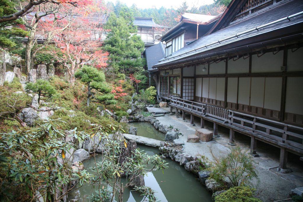 The accommodation at Shukubo Temple along the Shikoku Pilgrimage Trail.