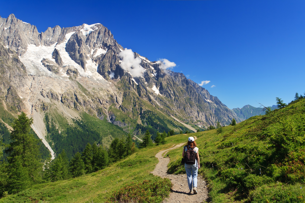 The Aosta Valley offers beautiful landscapes.