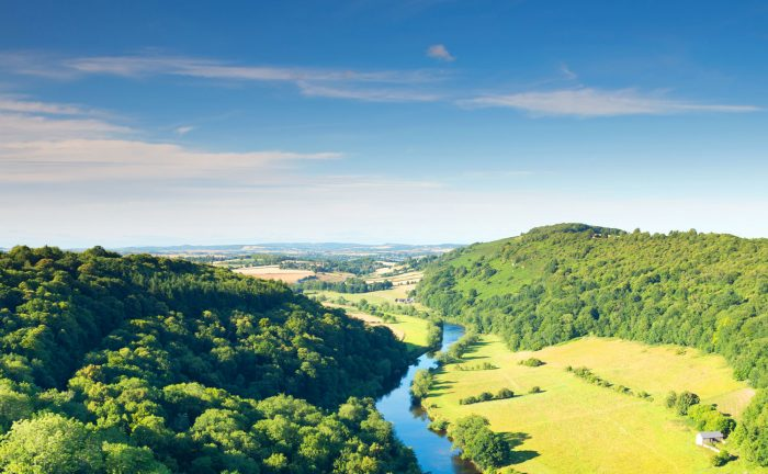 The River Wye.