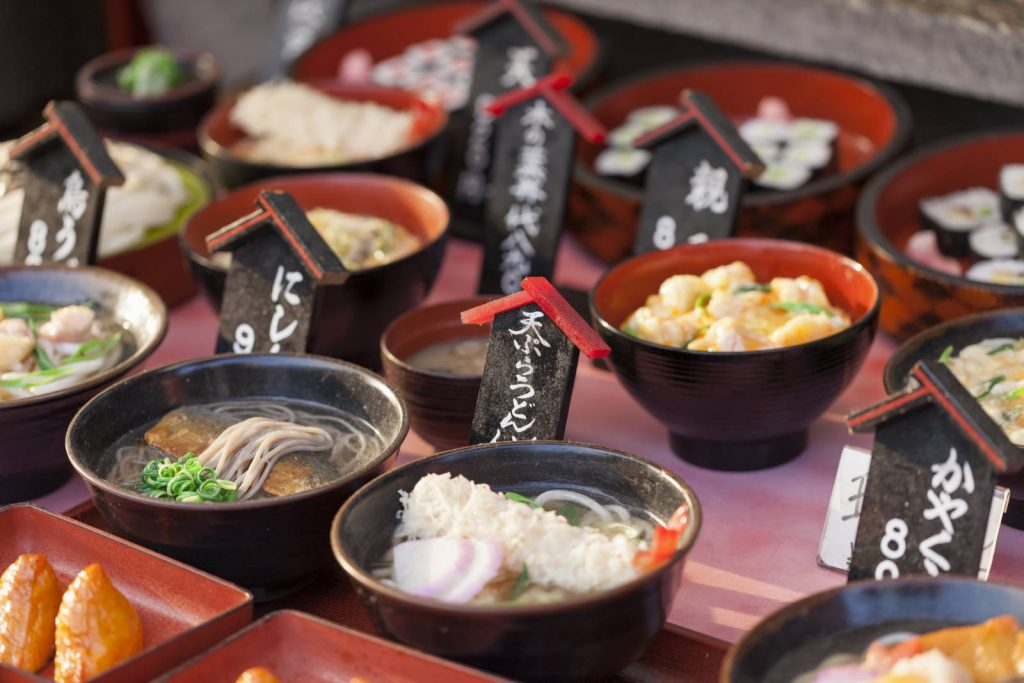 Japanese cuisine places a strong emphasis on seasonal ingredients.