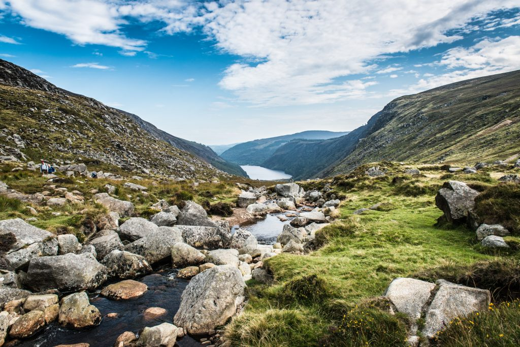 The picturesque Wicklow mountains
