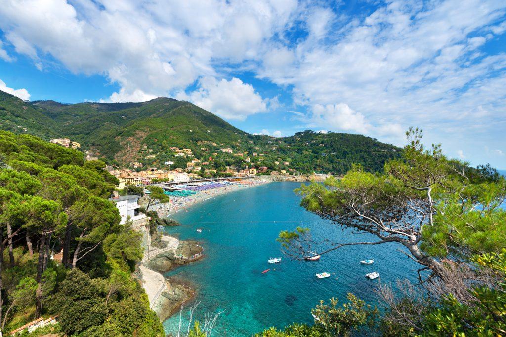 Bonassola along the Cinque Terre.