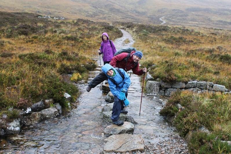 Rain on the West Highland Way