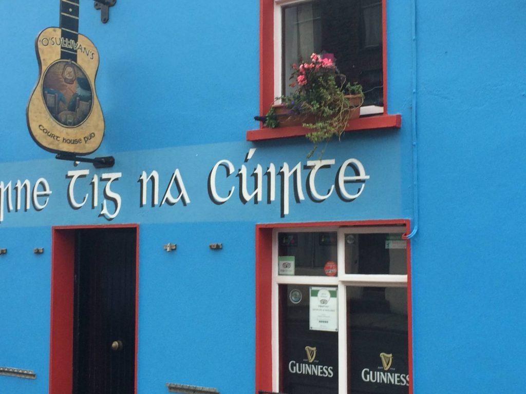 A pub along the Dingle Way