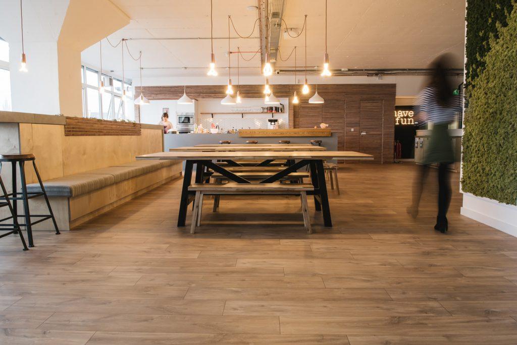 Kitchen at Macs HQ
