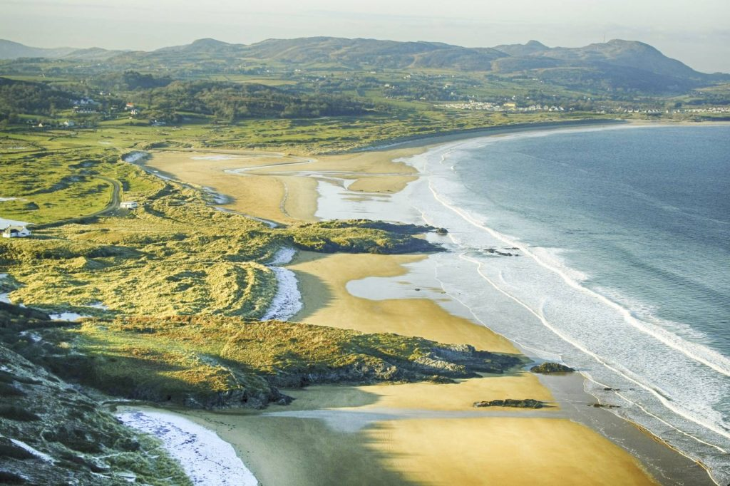 Port Salon Beach in County Donegal.