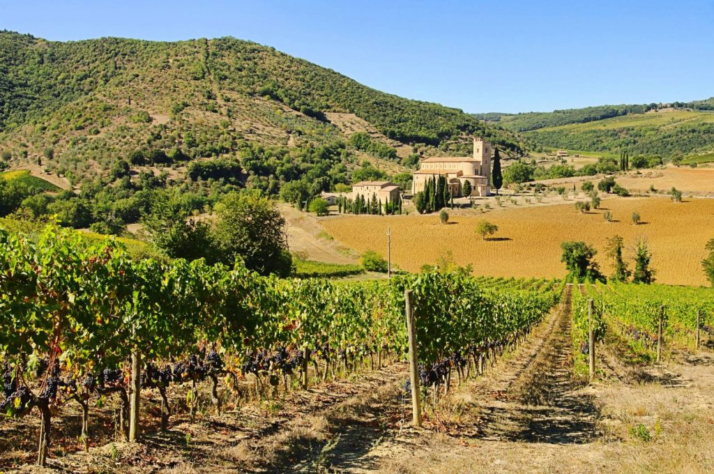 self guided wine tour tuscany