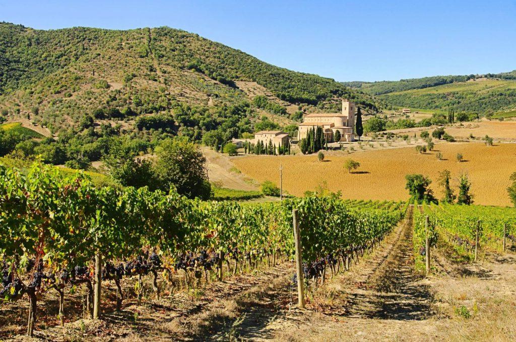 Sant Antimo, Tuscany