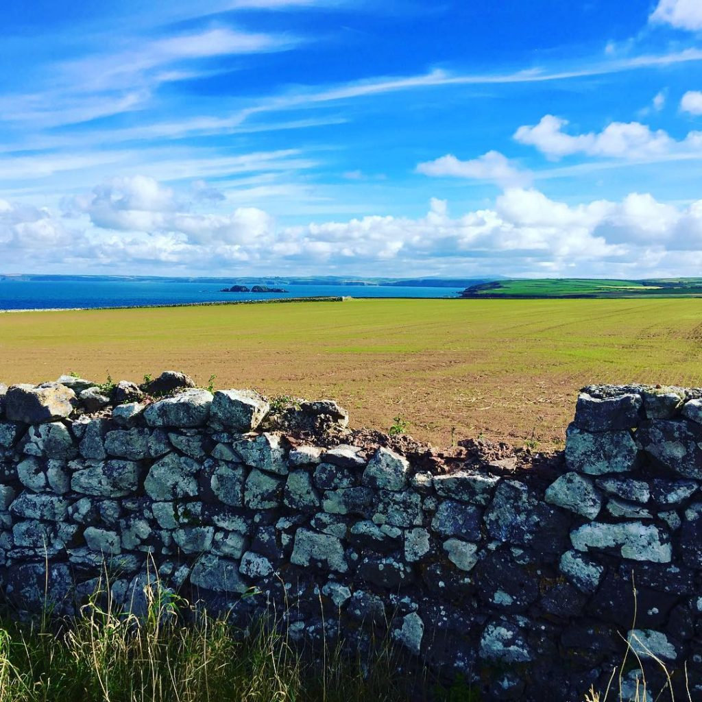Blue skies along the Pembrokeshire Coast Path