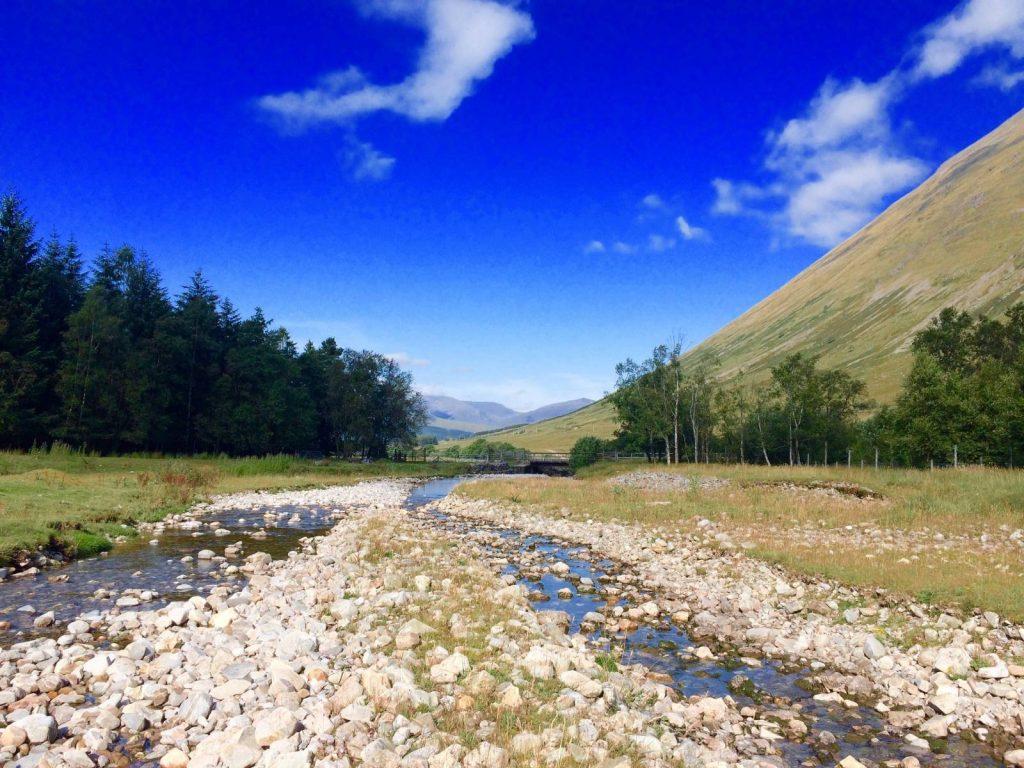 West Highland Way - Sunshine