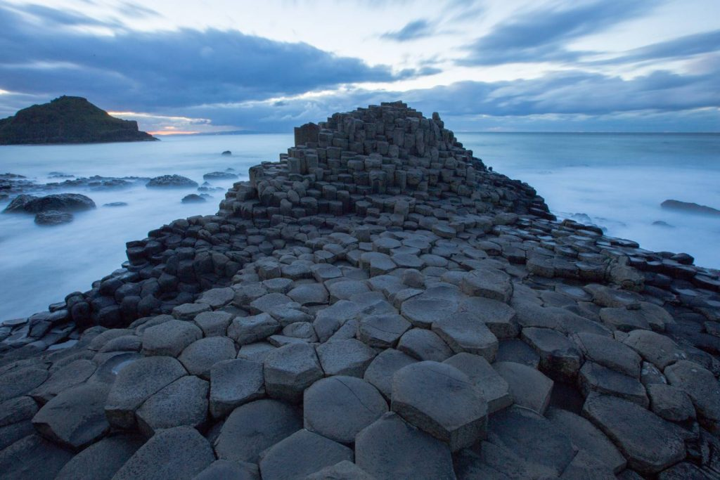 The Giant's Causeway on the Antrim Glens and Causeway Coast walking tour