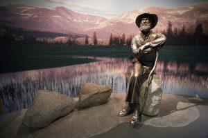 John Muir Statue in Yosemite National Park | Macs Adventure
