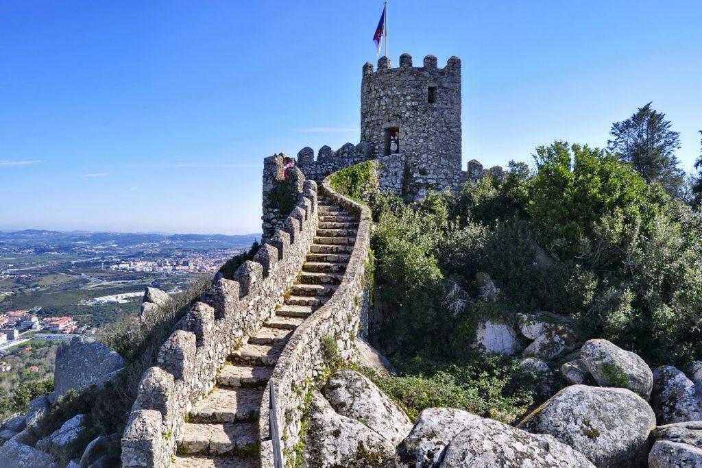 Moorish castle in Sintra | Macs Adventure