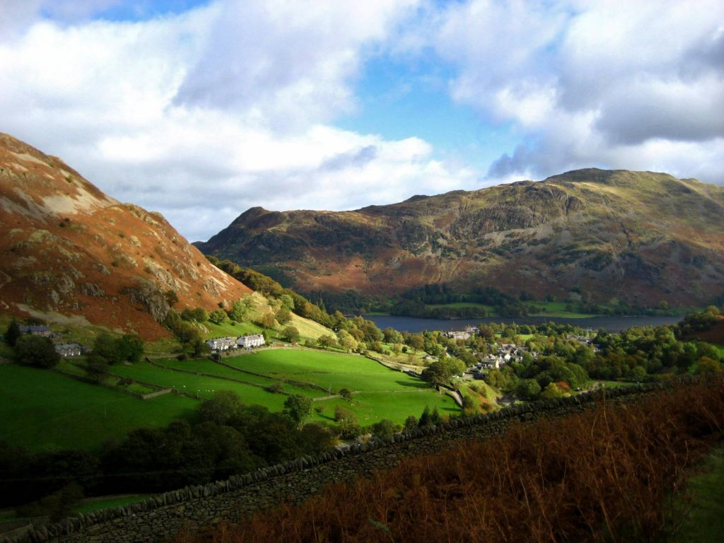 Glenridding with Ullswater in the distance. The Lake District National Park | Macs Adventure