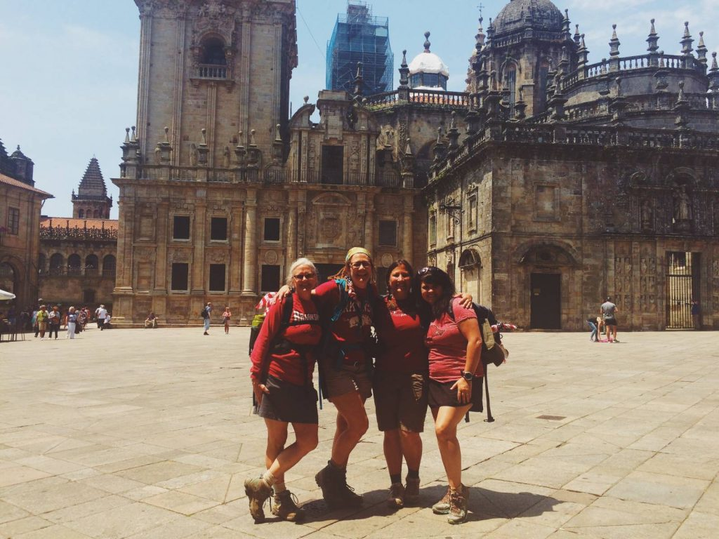 The finishing point of the Camino Portugues | Macs Adventure