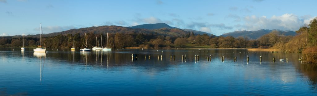 Lake Windermere from Ambleside on the Windermere on Two Wheels Cycling Tour | Macs Adventure