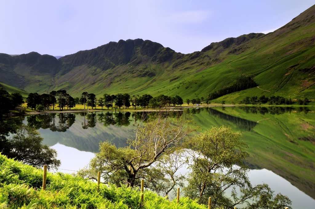 Buttermere in the Lake District National Park on the Windermere on Two Wheels Cycling tour | Macs Adventure