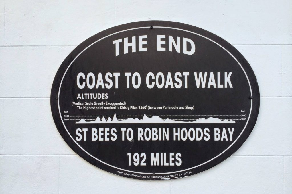 How Many Days to Walk the Coast to Coast?