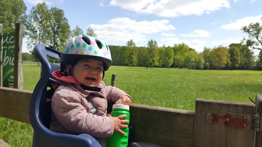 Baby on Bike Seat