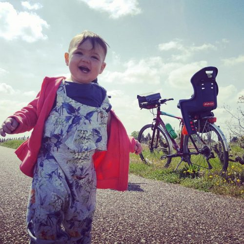 Cycling with family in the Loire Valley