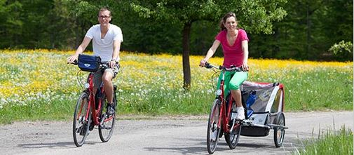 Family cycling holiday