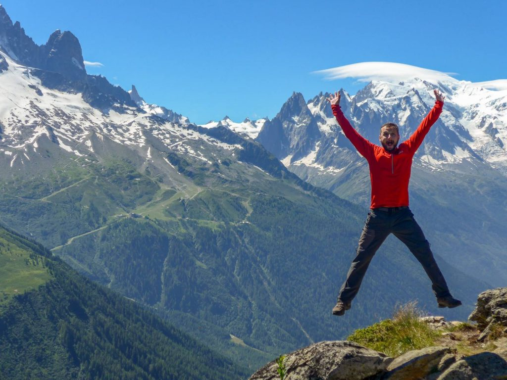 The Tour du Mont Blanc walking tour