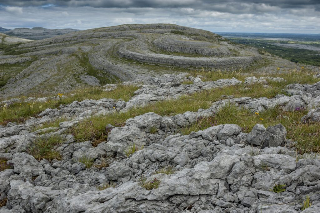 Burren rock formations