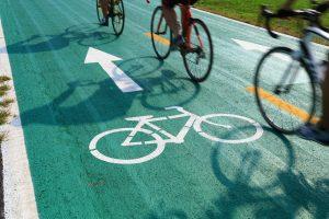 Follow cycle paths