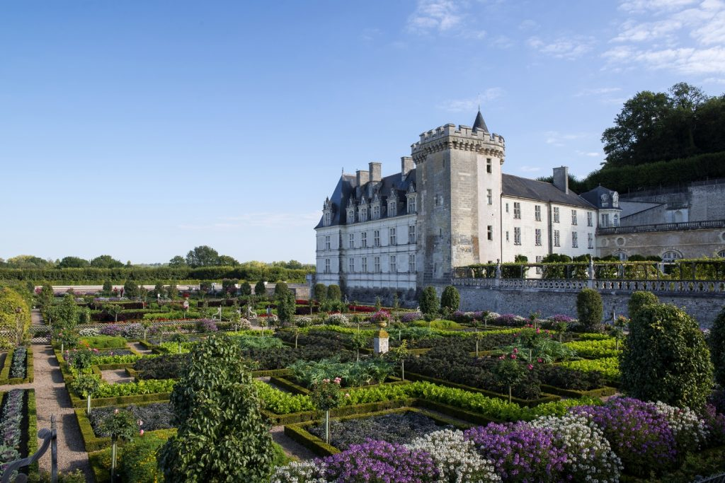 Chateau and gardens of villandry