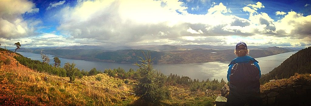 Great Glen Way Panorama