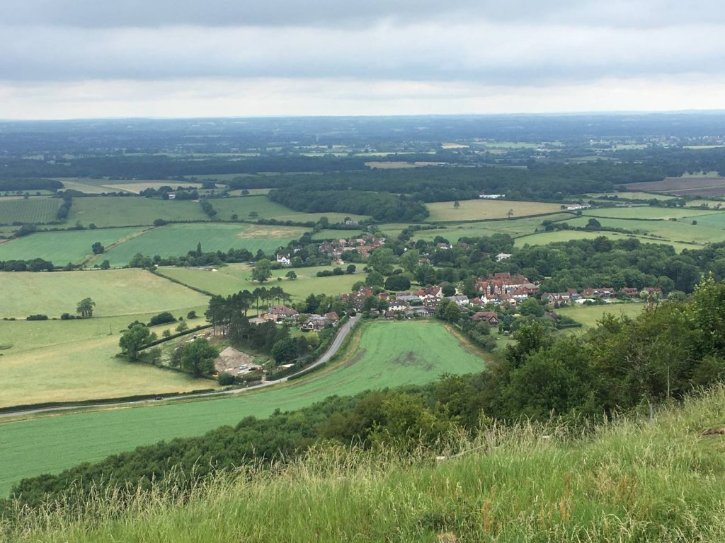 Views over the North Downs