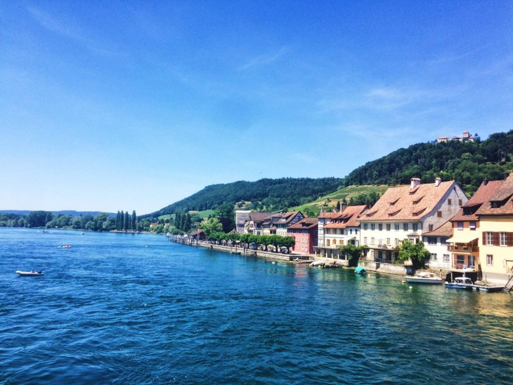 Stein am Rhein on Lake Constance