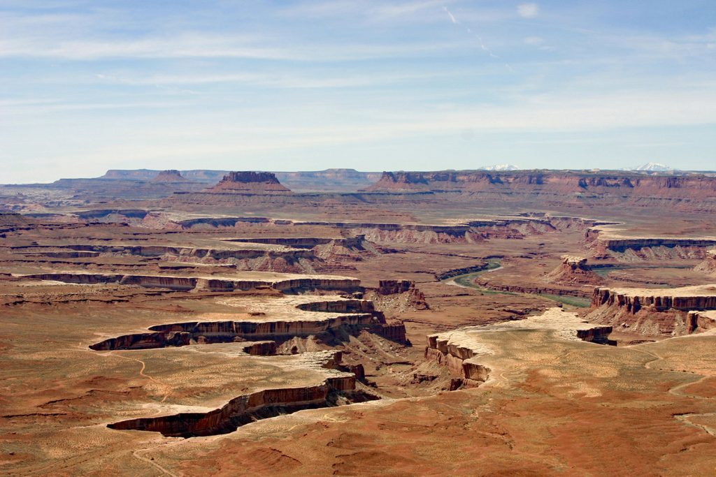 view over canyonlands national park