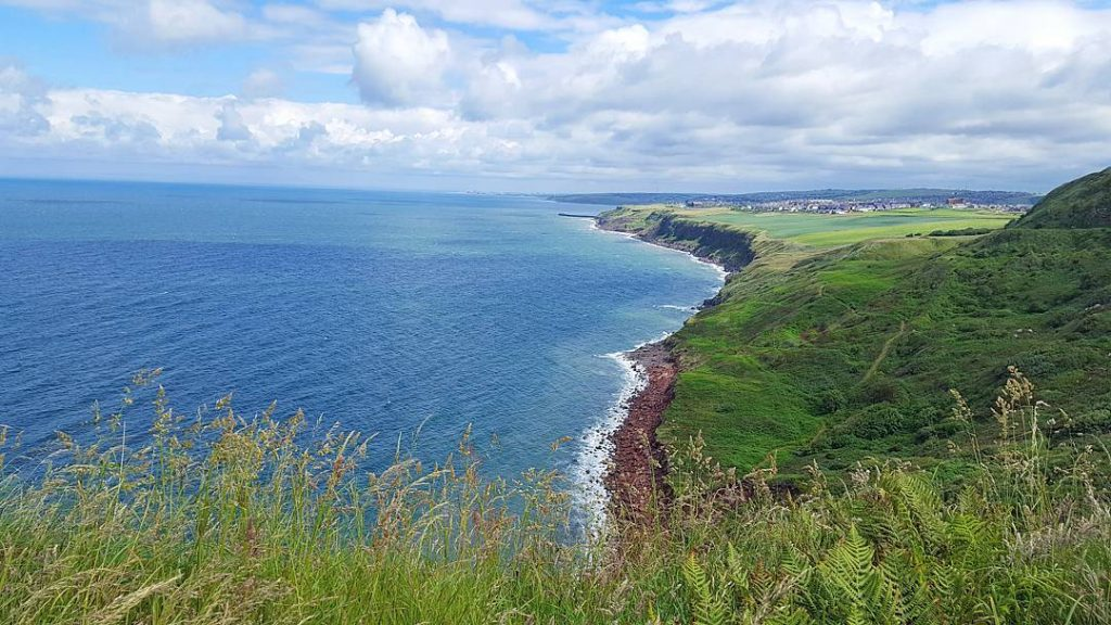Sandstone Cliffs on the Coast to Coast walk