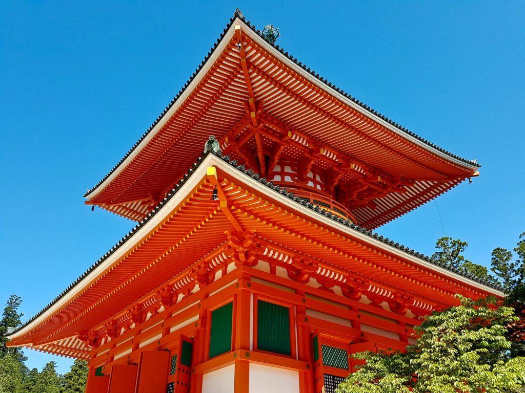 Temple at Mount Koya