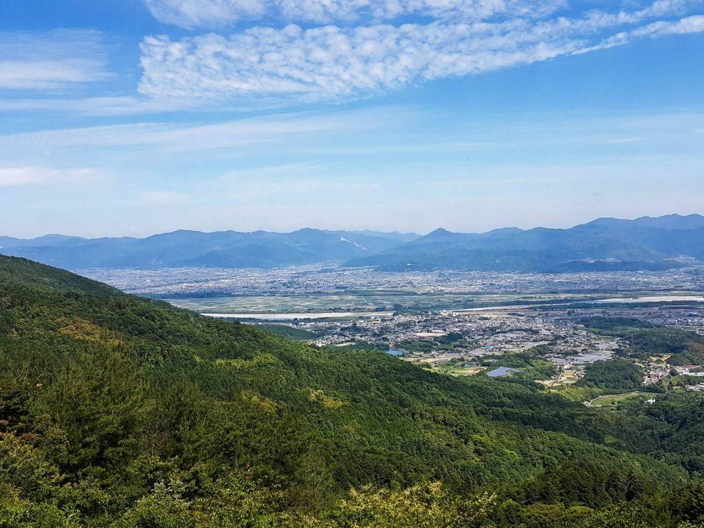 Shikoku Island Views under Blue Sky