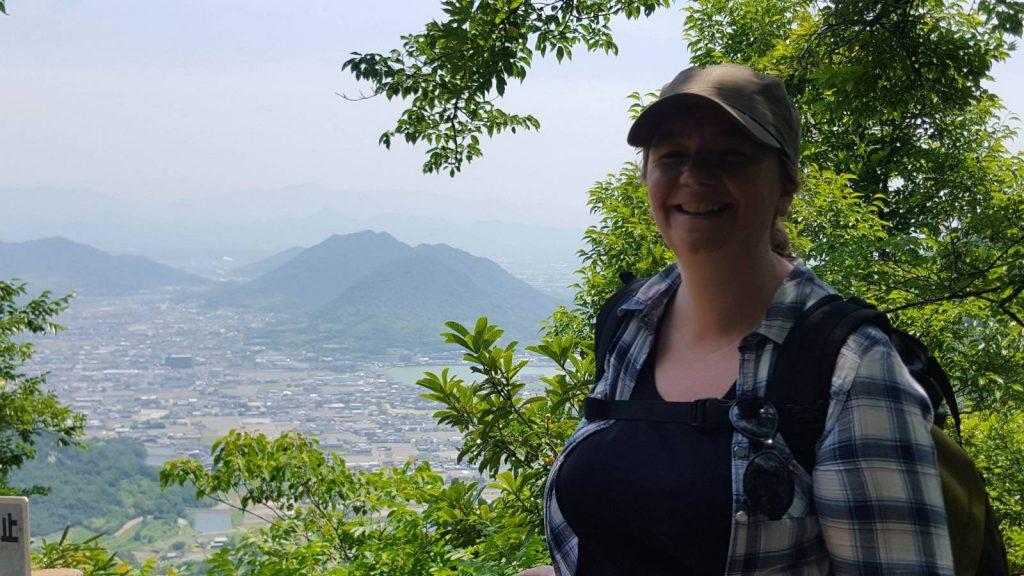 Nicola on the Shikoku Trail