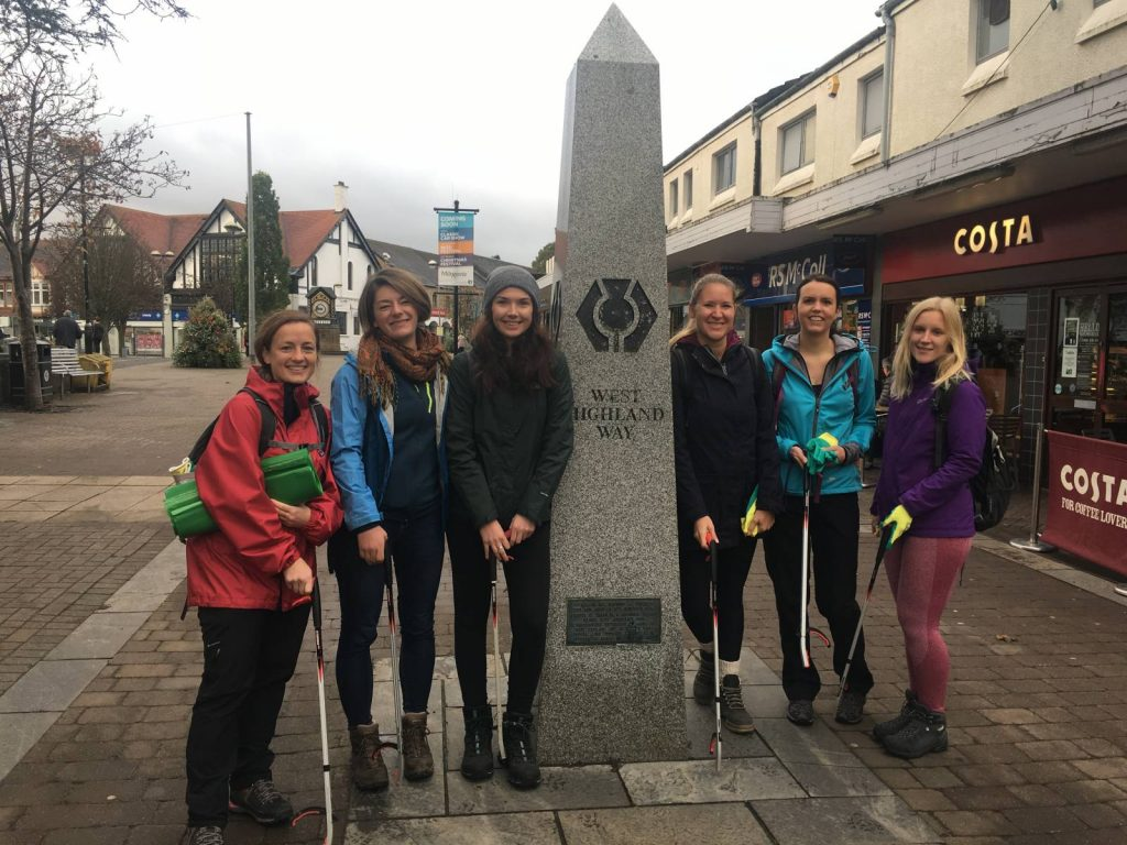 West Highland Way start