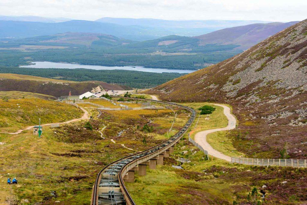 Funicular Tracks, Cairngorm
