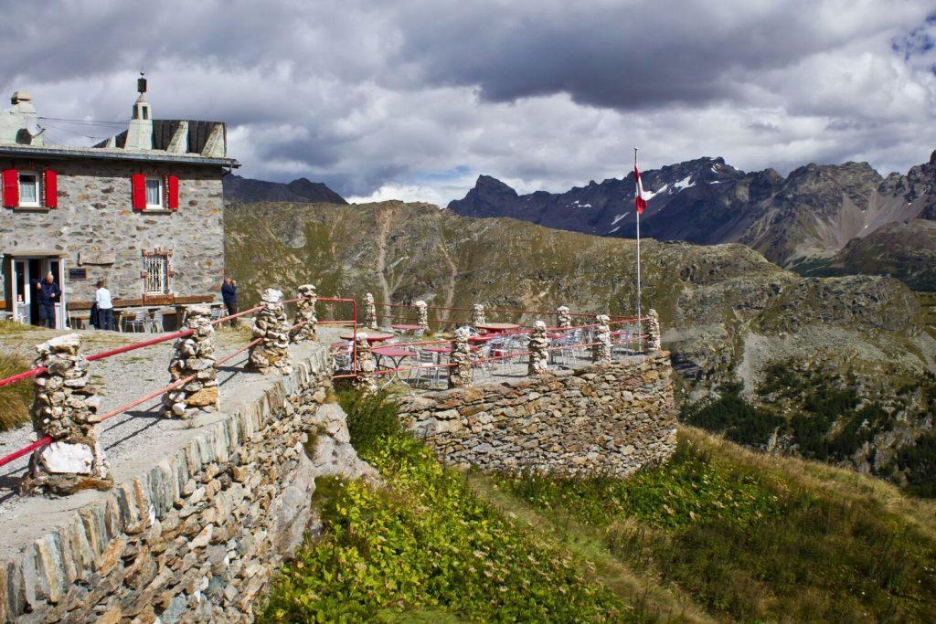 Views from Sassal Mason hut