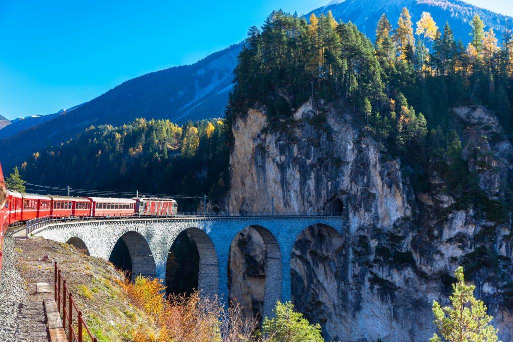 Glacier Express in Switzerland
