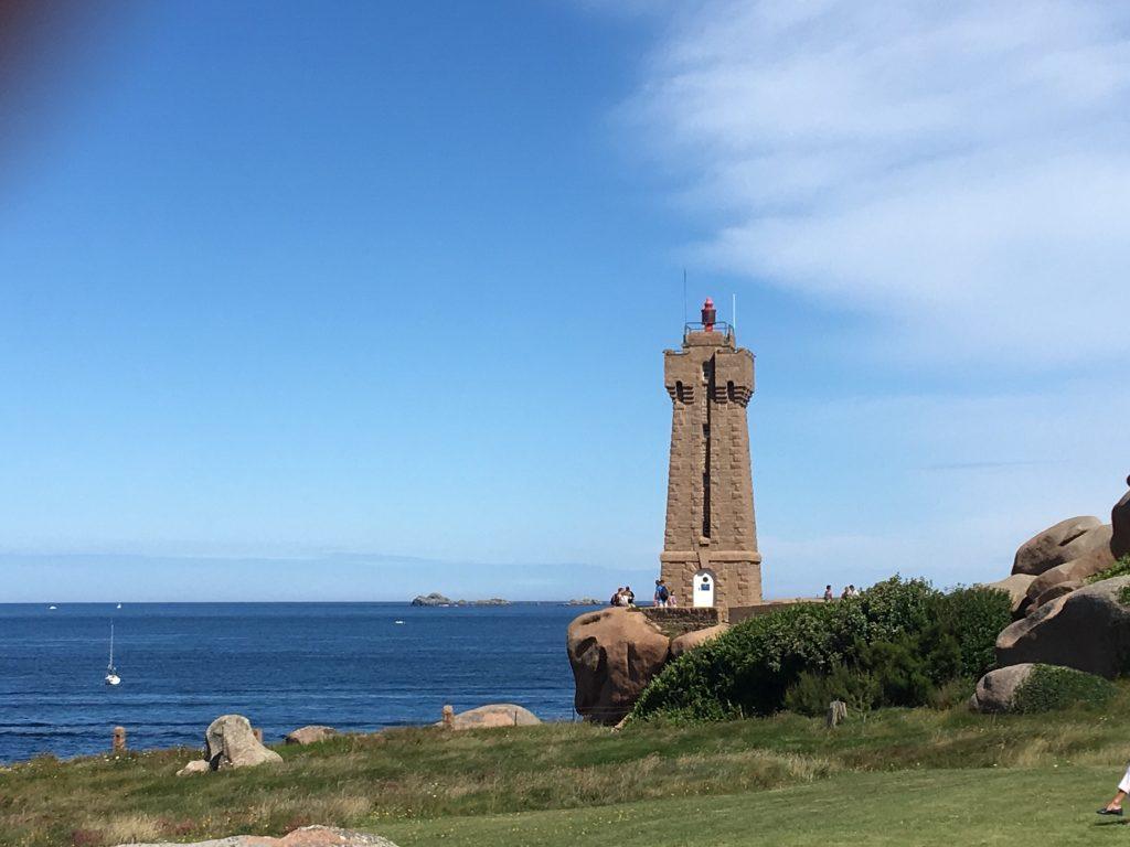 Lighthouse on Brittany Coast