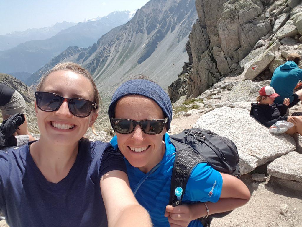 Macs Adventure team on the Tour du Mont Blanc