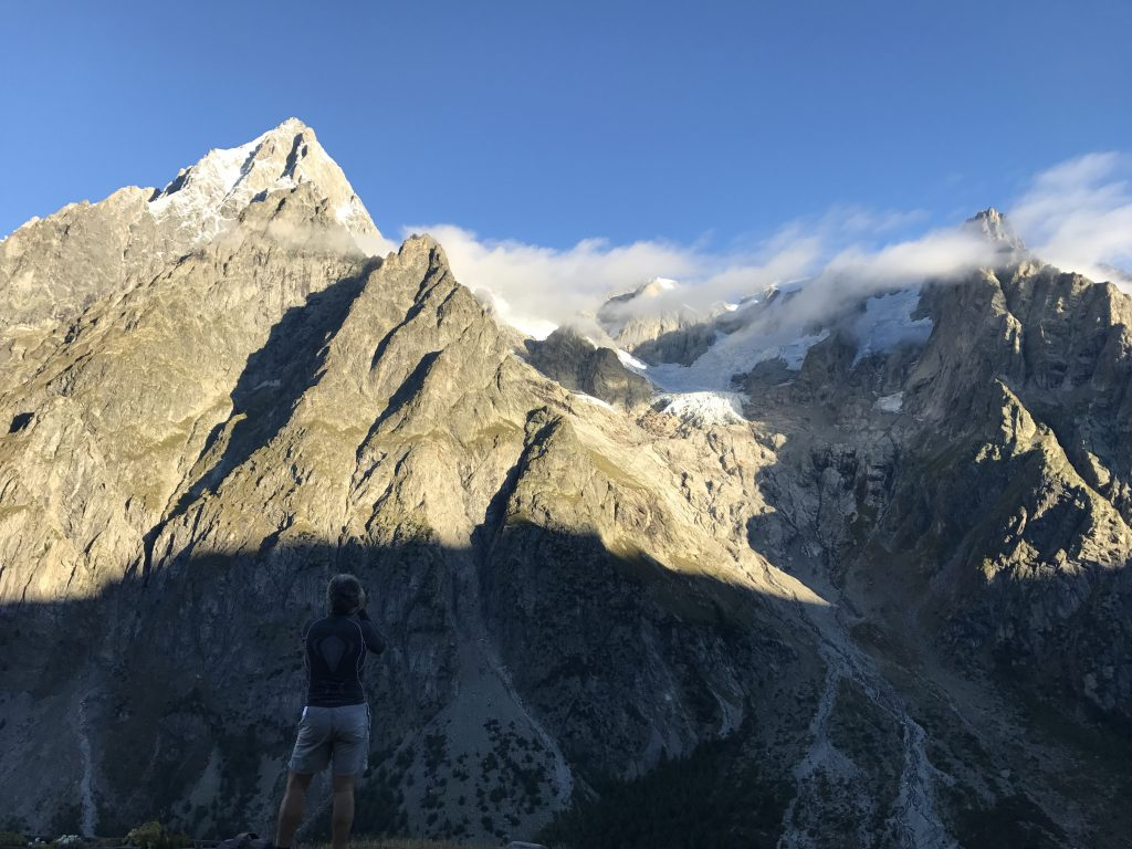 Alpine Mountains Mont Blanc